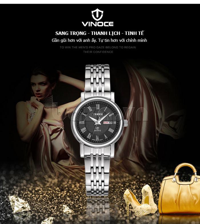 Đồng hồ đôi Vinoce V8373 cá tính