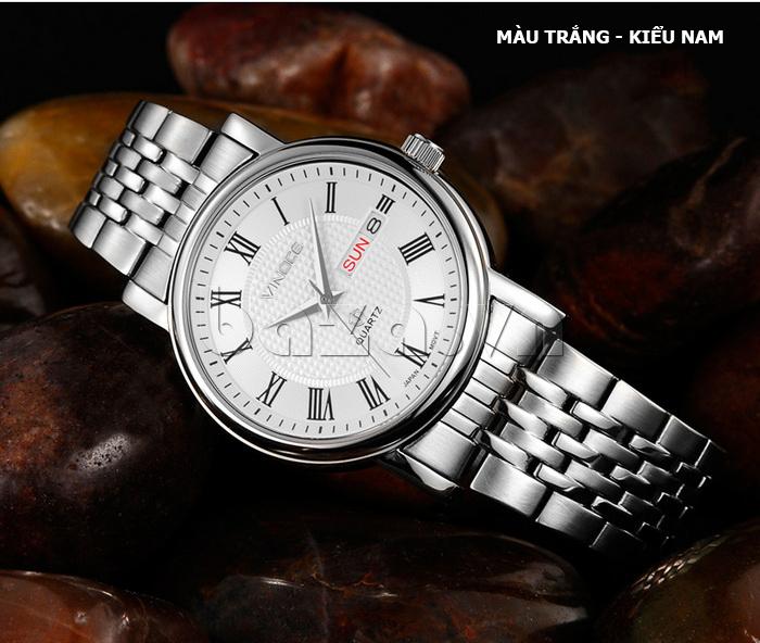 Đồng hồ đôi Vinoce V8373 thiết kế tuyệt vời