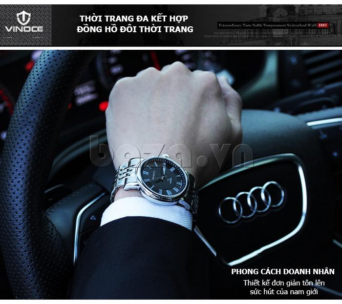 Đồng hồ đôi Vinoce V8373 hoàn hảo