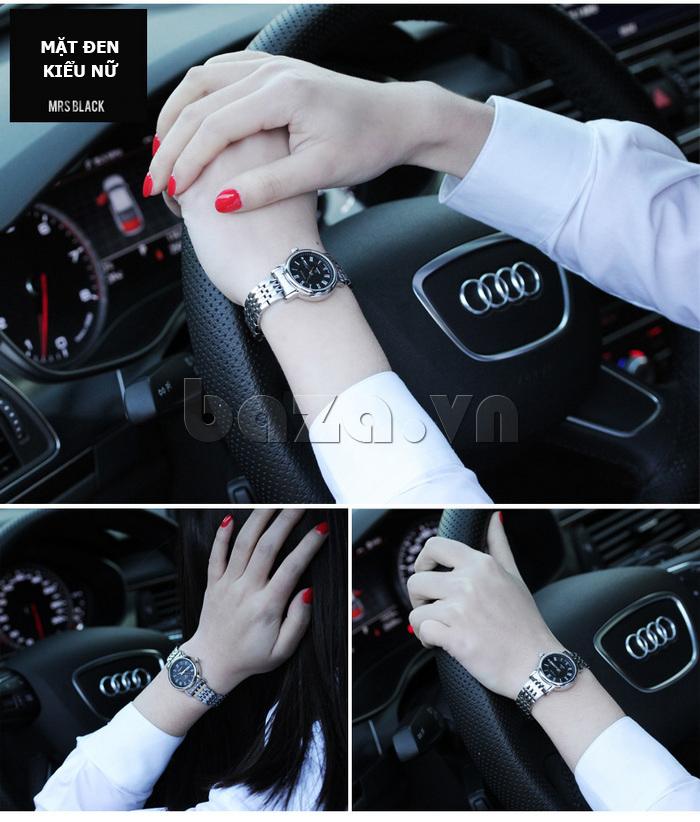 Đồng hồ đôi Vinoce V8373 thiết kế ấn tượng và đẹp