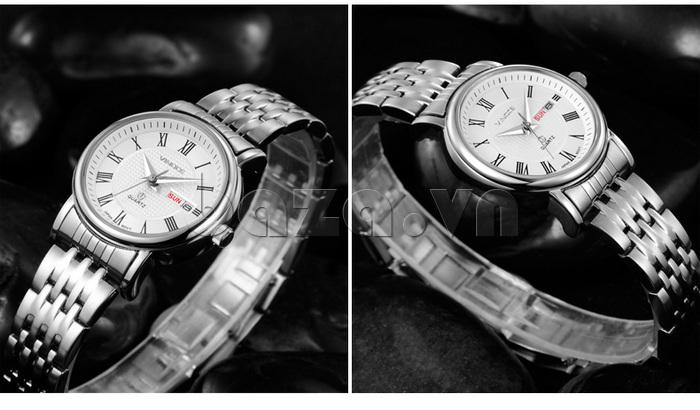 Đồng hồ đôi Vinoce V8373 thiết kếphong cách