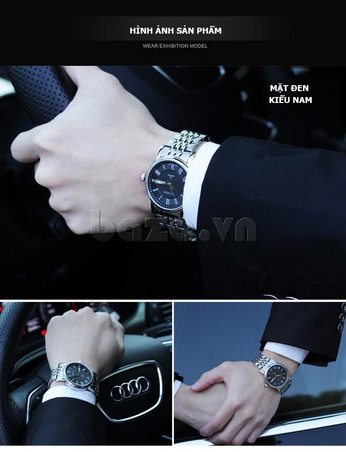 Đồng hồ đôi Vinoce V8373 thiết kế nổi bật và đẹp
