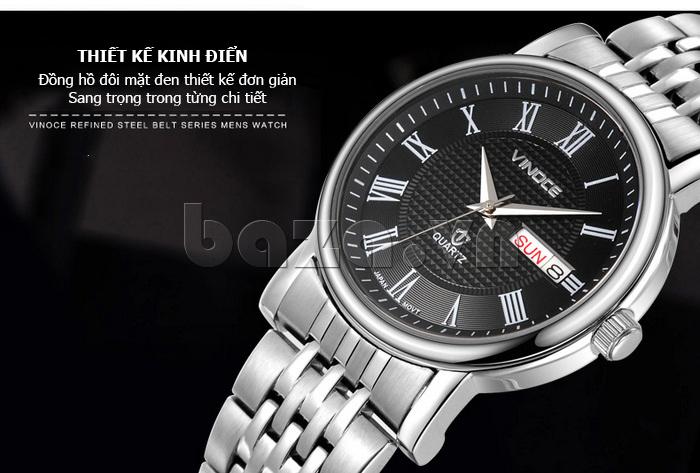 Đồng hồ đôi Vinoce V8373 thời trang
