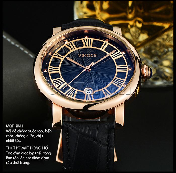 Đồng hồ thời trang nam Vinoce V3281G bền