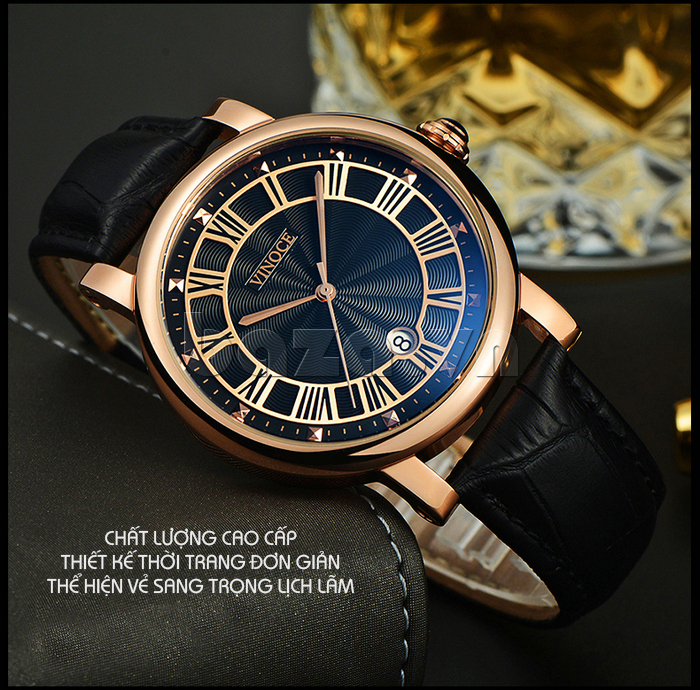 Đồng hồ thời trang nam Vinoce V3281G hoàn hảo