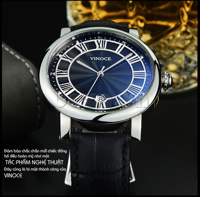 Đồng hồ thời trang nam Vinoce V3281G thiết kế đẹp