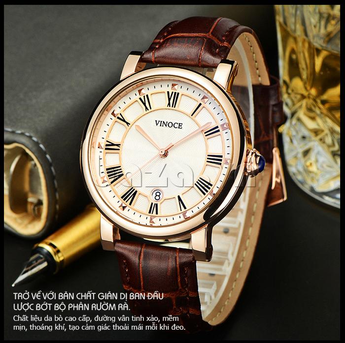 Đồng hồ thời trang nam Vinoce V3281G cá tính