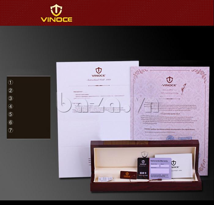 Đồng hồ thời trang nam Vinoce V3281G đẳng cấp thương hiệu