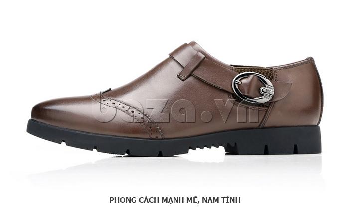 Giày da nam Olunpo QXD1403  ấn tượng