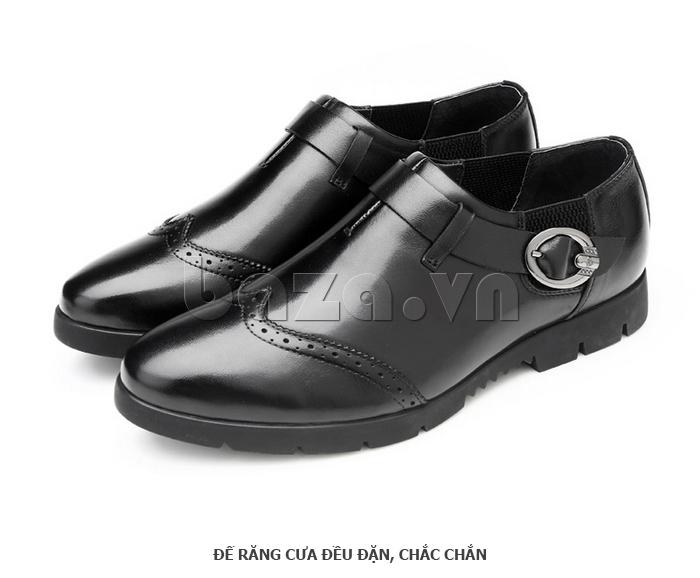 Giày da nam Olunpo QXD1403  đường may chắc chắn bền đẹp