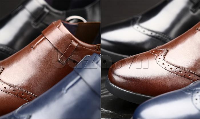 Giày da nam Olunpo QXD1403  có nhiều màu sắc sang trọng