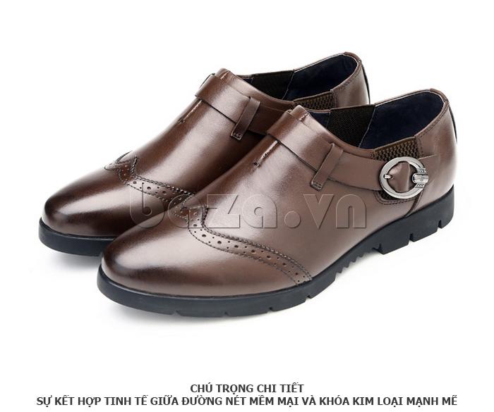 Giày da nam Olunpo QXD1403  đầy sức hút