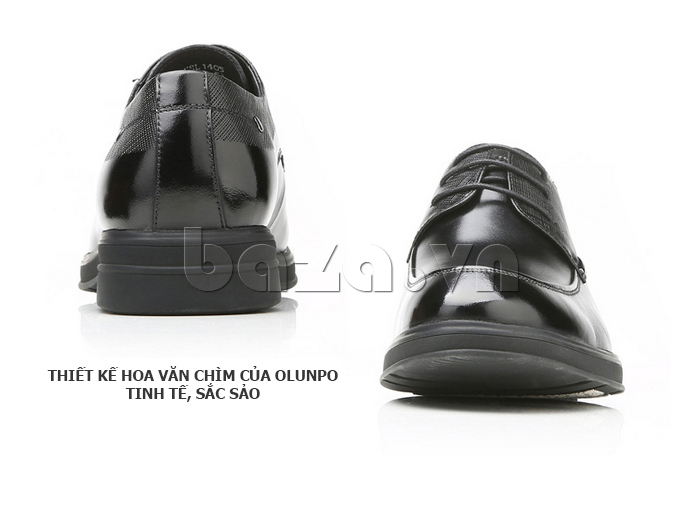 Giày da nam thời trang OLUNPO QHSL1405 là giày nam công sở hoàn mỹ