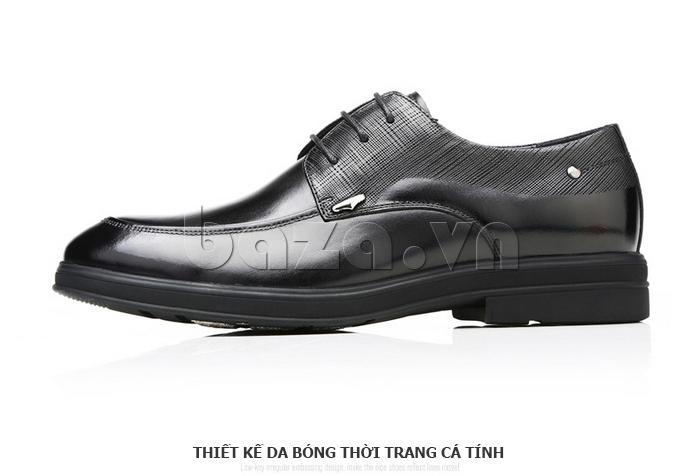 Giày da nam thời trang OLUNPO QHSL1405 cá tính