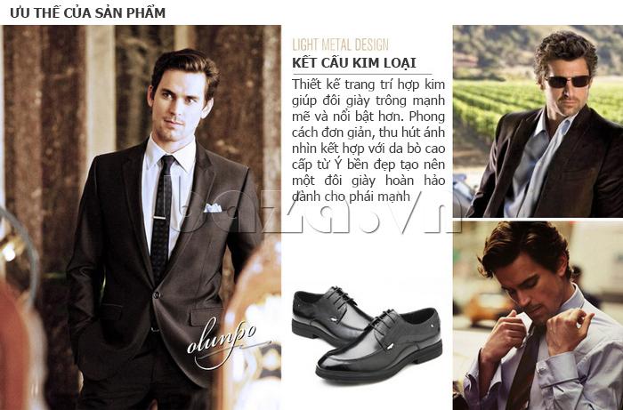 Giày da nam thời trang OLUNPO QHSL1405 có nhiều ưu điểm