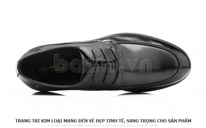 Giày da nam thời trang OLUNPO QHSL1405 sang trọng