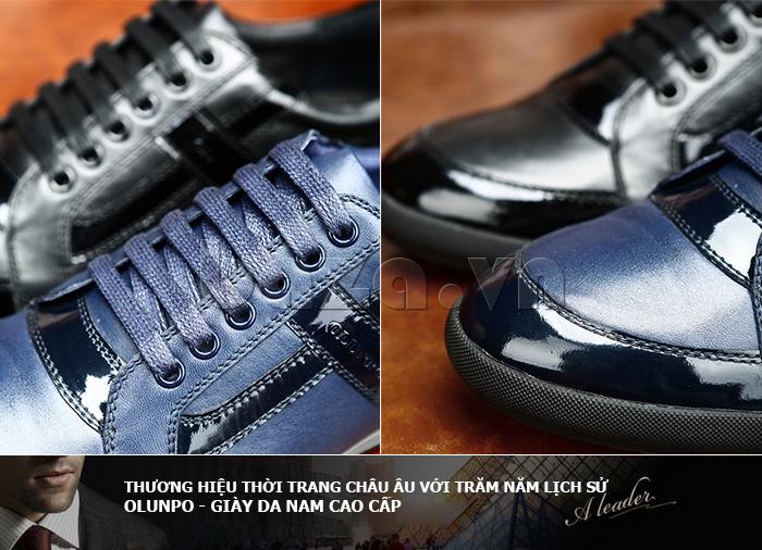 Giày da nam Olunpo QHT1426 ấn tượng và nam tính