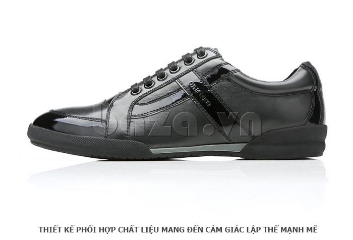 Giày da nam Olunpo QHT1426 thời trang cuốn hút cho nam giới