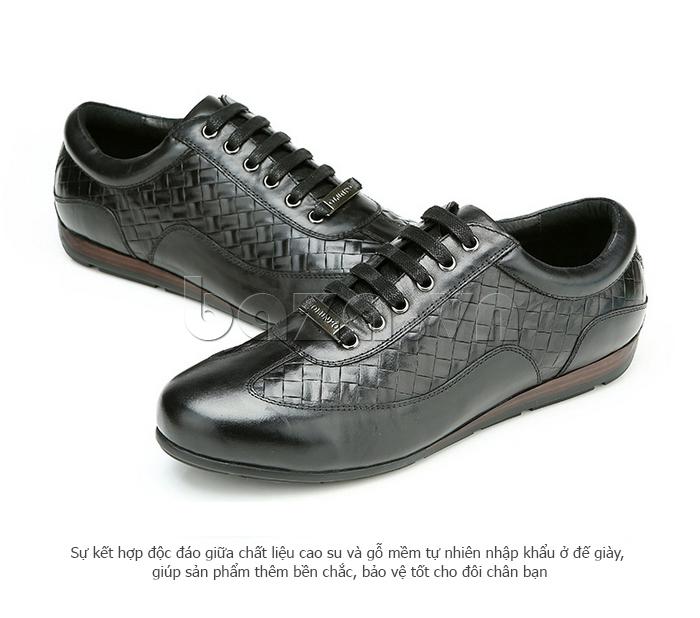Giày da nam Olunpo QHT1436 là món quà độc đáo cho nam giới