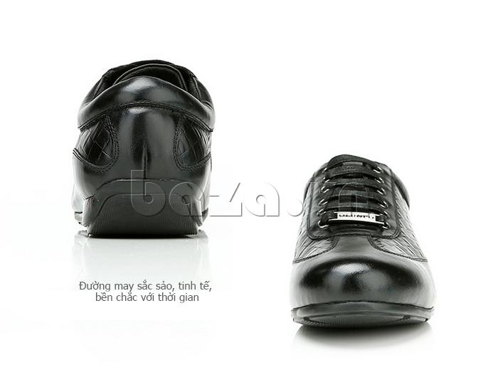 Giày da nam Olunpo QHT1436 có đường may sắc sảo