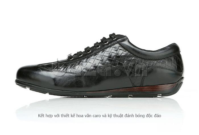 Giày da nam Olunpo QHT1436 thiết kế độc đáo