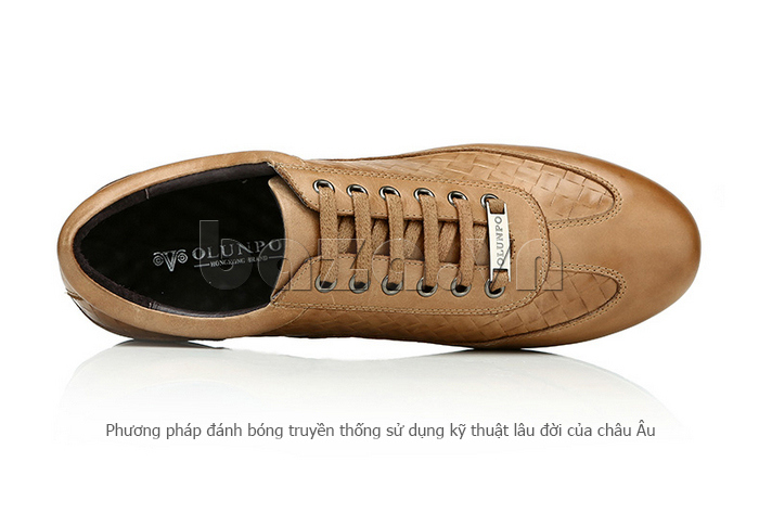Giày da nam Olunpo QHT1436 thời trang
