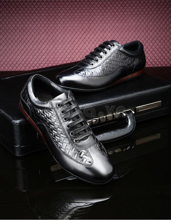 Giày da nam Olunpo QHT1436 đơn giản mà tinh tế