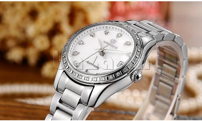 Đồng hồ nữ Automatic sang trọng Vinoce V633240L tinh tế mọi góc nhìn