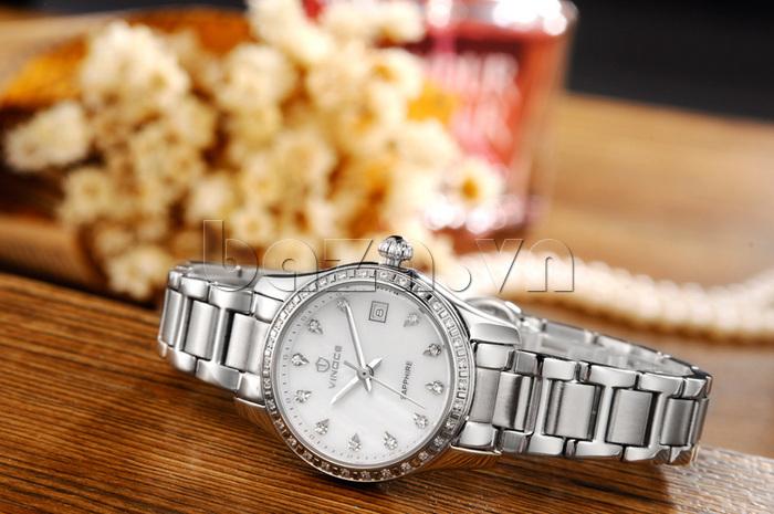 Đồng hồ nữ Automatic sang trọng Vinoce V633240L
