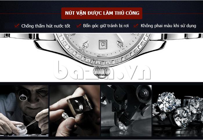 Đồng hồ nữ Automatic sang trọng Vinoce V633240L chống thấm hút nước tốt