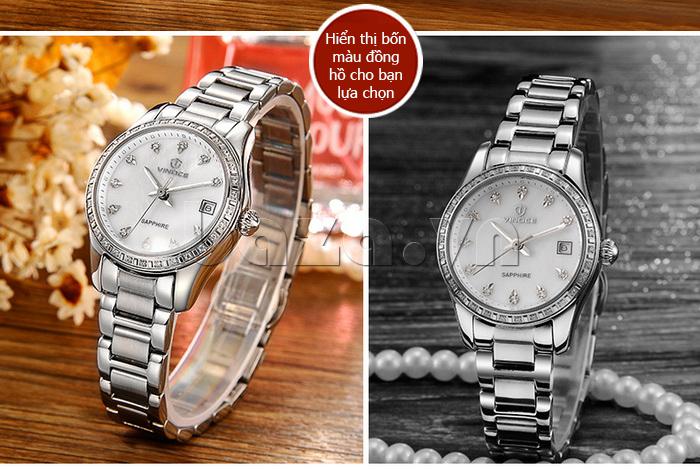 Đồng hồ nữ Automatic sang trọng Vinoce V633240L chất lượng cao cấp