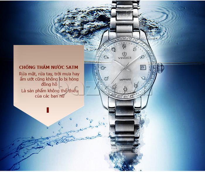 Đồng hồ nữ Automatic sang trọng Vinoce V633240L vẻ đẹp thu hút