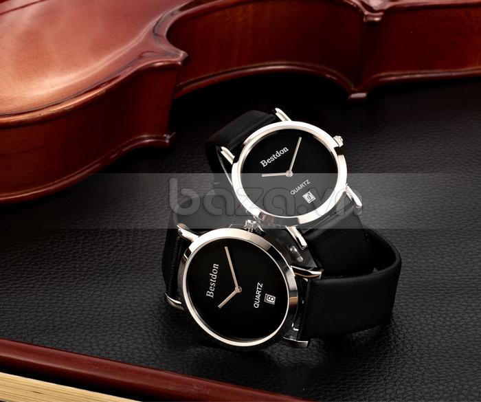 Đồng hồ nam siêu mỏng thời trang Bestdon BD9951AG