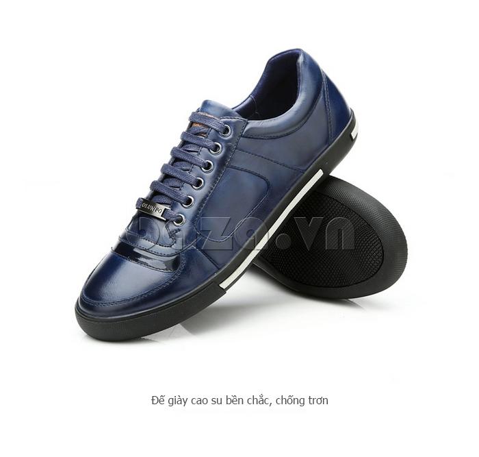 Giày da nam Olunpo QHT1422 thiết kế đế giày chống trơn