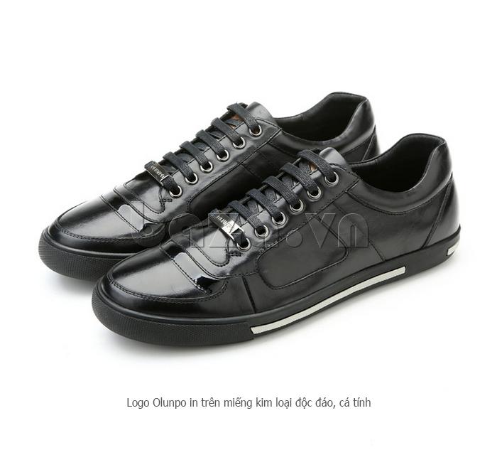 Giày da nam Olunpo QHT1422 kiểu dáng năng động