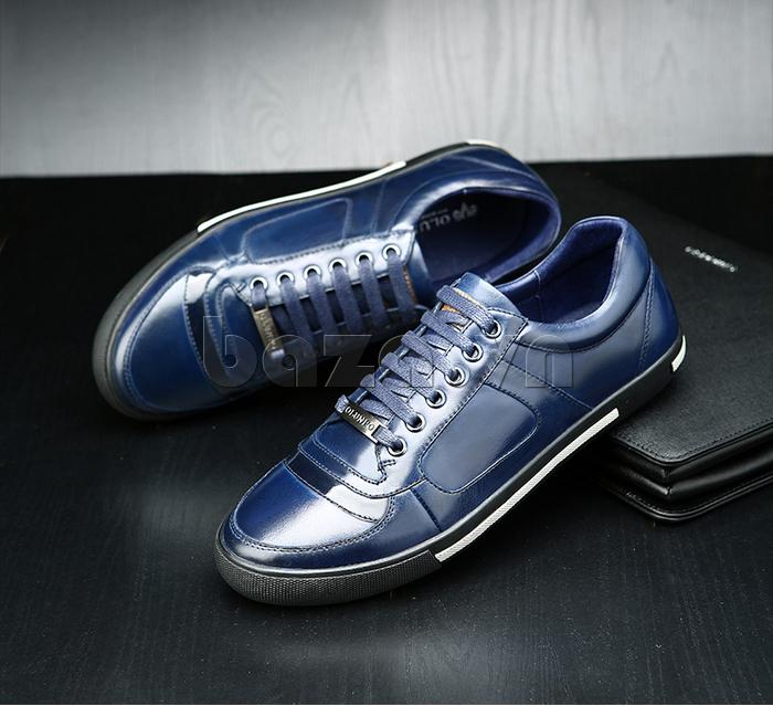Giày da nam Olunpo QHT1422 kiểu dáng độc đáo