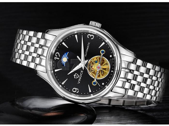 Đồng hồ cơ nam Vinoce V633231G lịch lãm