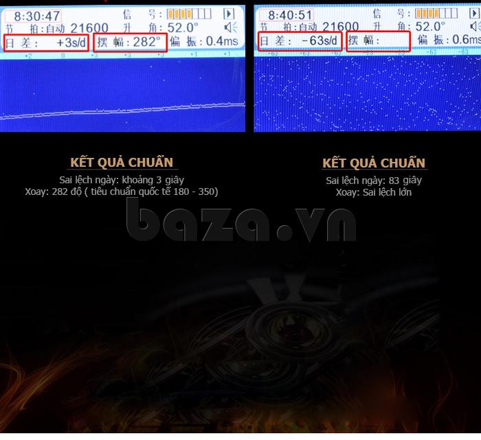 Đồng hồ cơ nam Vinoce V633231G bền đẹp