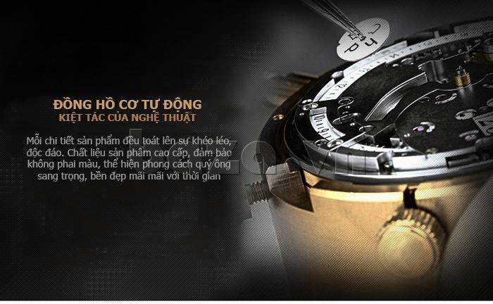 Đồng hồ cơ nam Vinoce V633231G mặt chạm rỗng