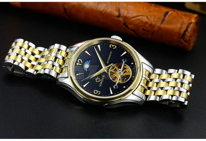 Đồng hồ cơ nam Vinoce V633231G đẹp