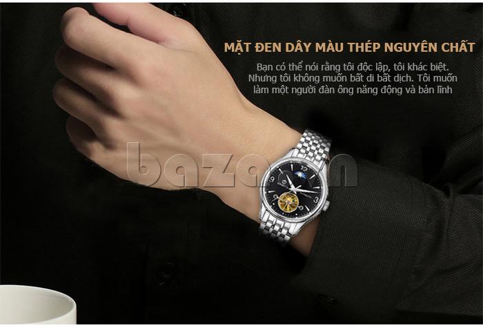 Đồng hồ cơ nam Vinoce V633231G thời trang