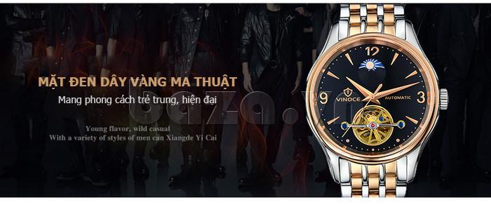 Đồng hồ cơ nam Vinoce V633231G ấn tượng