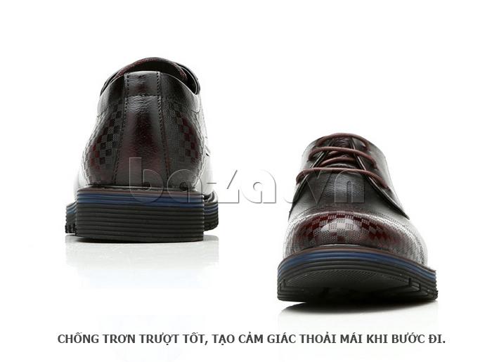 Giày da nam Olunpo QMD1401 chống trơn trượt tốt