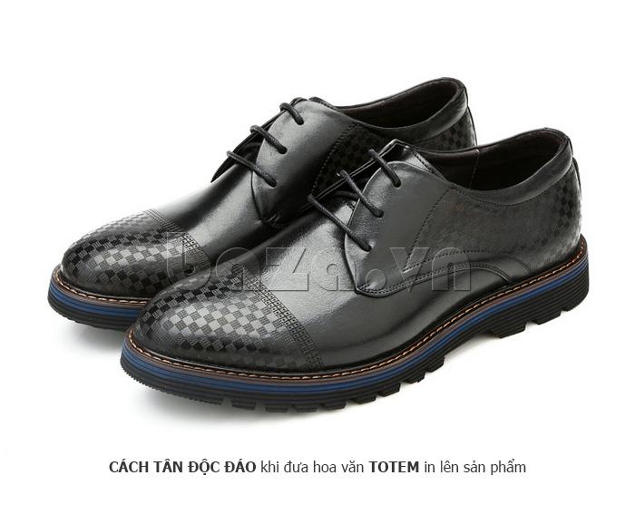 Giày da nam Olunpo QMD1401 thu hút mọi ánh nhìn