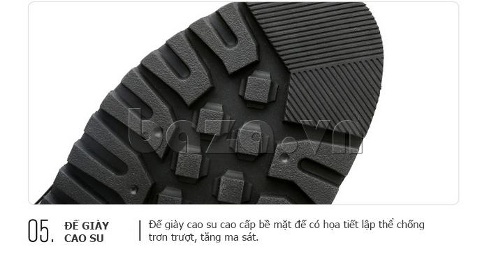 Giày da nam Olunpo QMD1401 đế cao su cao cấp