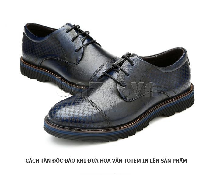 Giày da nam Olunpo QMD1401 độc đáo cho nam giới