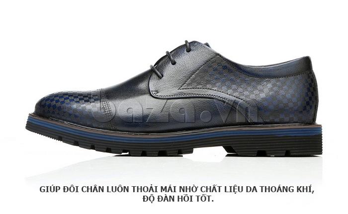 Giày da nam Olunpo QMD1401 tạo cảm giác dễ chịu khi đi