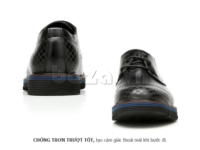 Giày da nam Olunpo QMD1401 tinh tế ở mọi góc nhìn