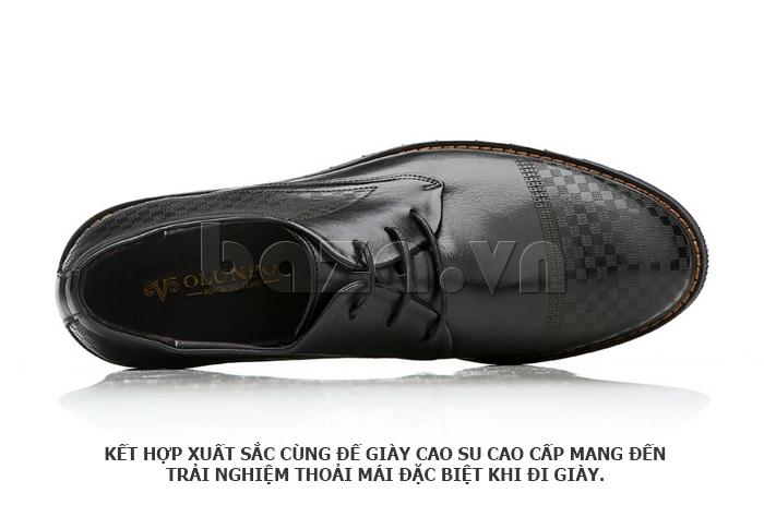 Giày da nam Olunpo QMD1401 cho bạn những trải nghiệm mới