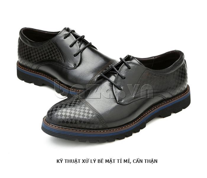 Giày da nam Olunpo QMD1401 khoe cá tính